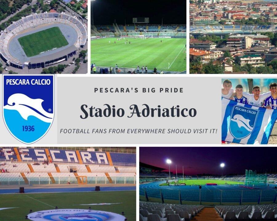 Stadio Adriatico, a college of the coolest pictures of this amazing football stadium!