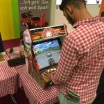 Amiga Racer own built arcade machine